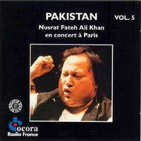 Nusrat Fate Ali Khan Concert Paris Cd 5